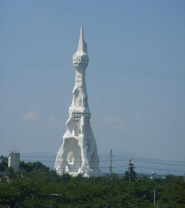 Башня Мира. Тондабаяси, Япония