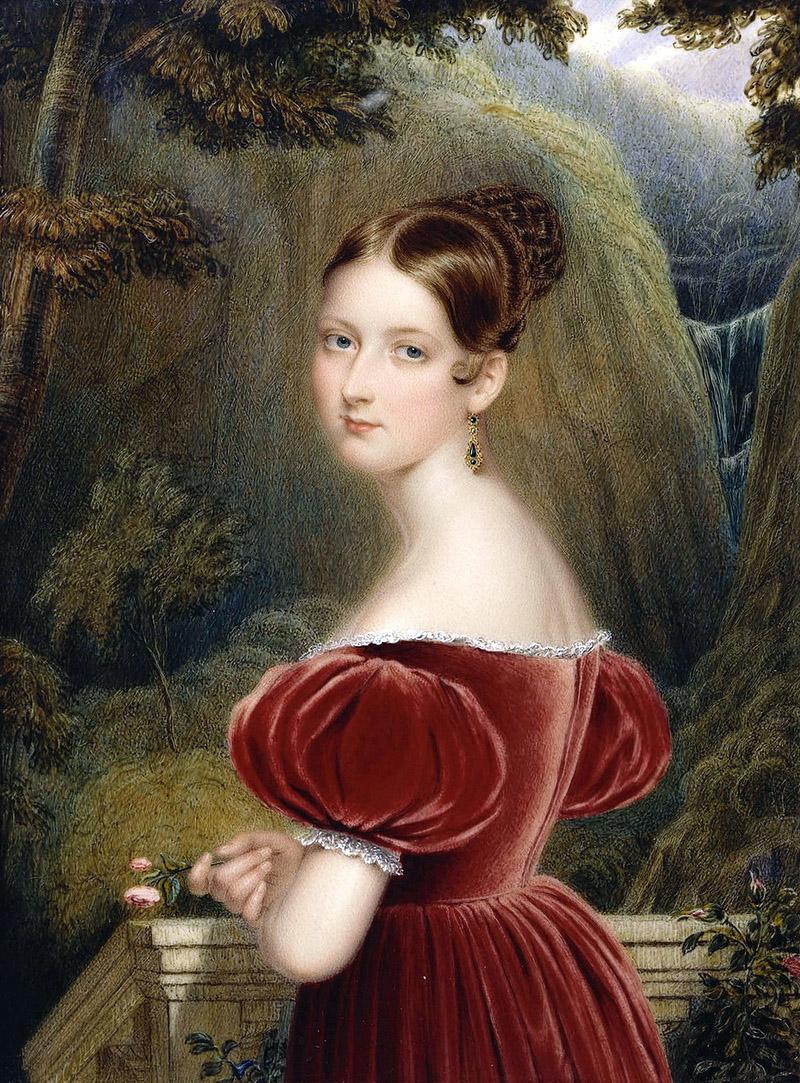 Генри Коллен (1798-1879)<br /> Королева Виктория (1819-1901), когда принцесса Виктория 1836