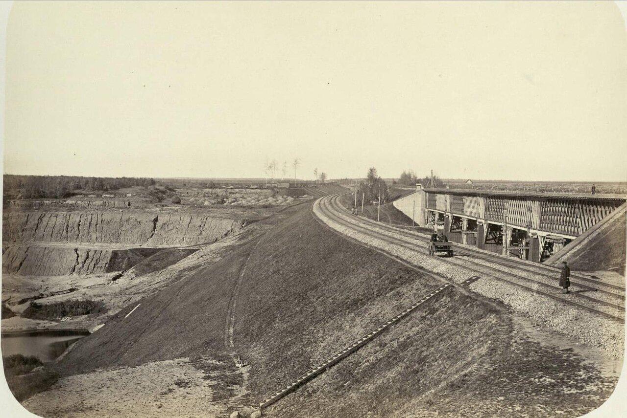 42. Железнодорожный мост на Николаевской ж.д. (между Химками и Сходней)