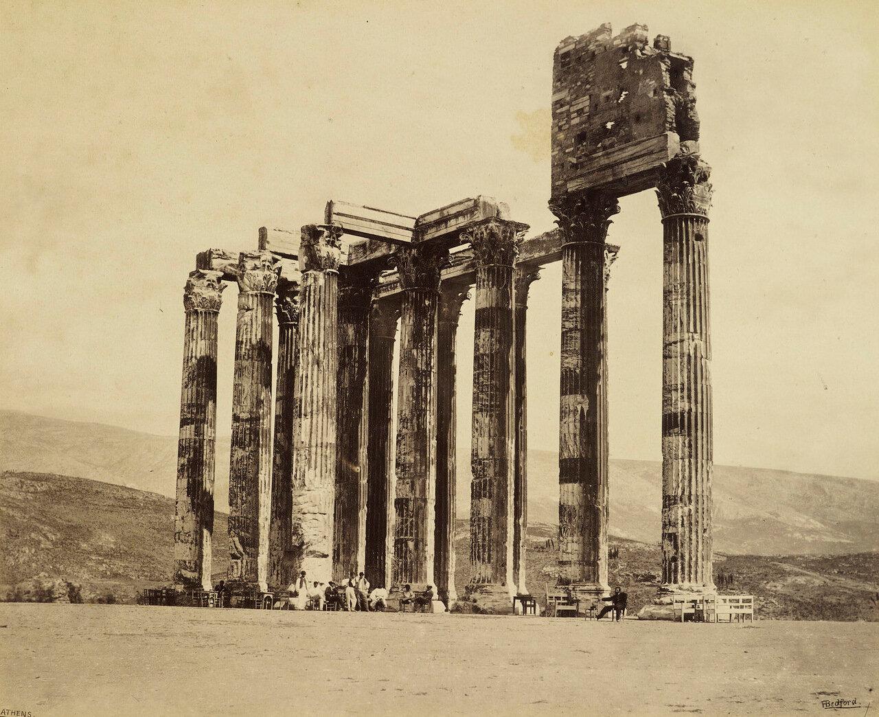 31 мая 1862. Храм Зевса Олимпийского, Афины