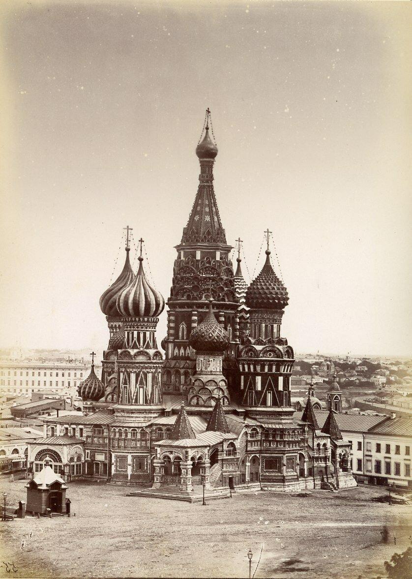 Собор Василия Блаженного. 1879