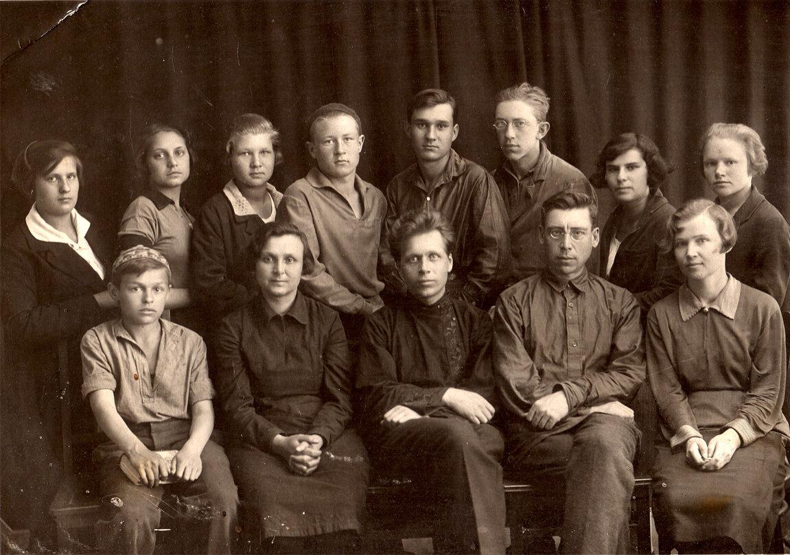 1930-е. Учащиеся школы им.Пушкина, Березники