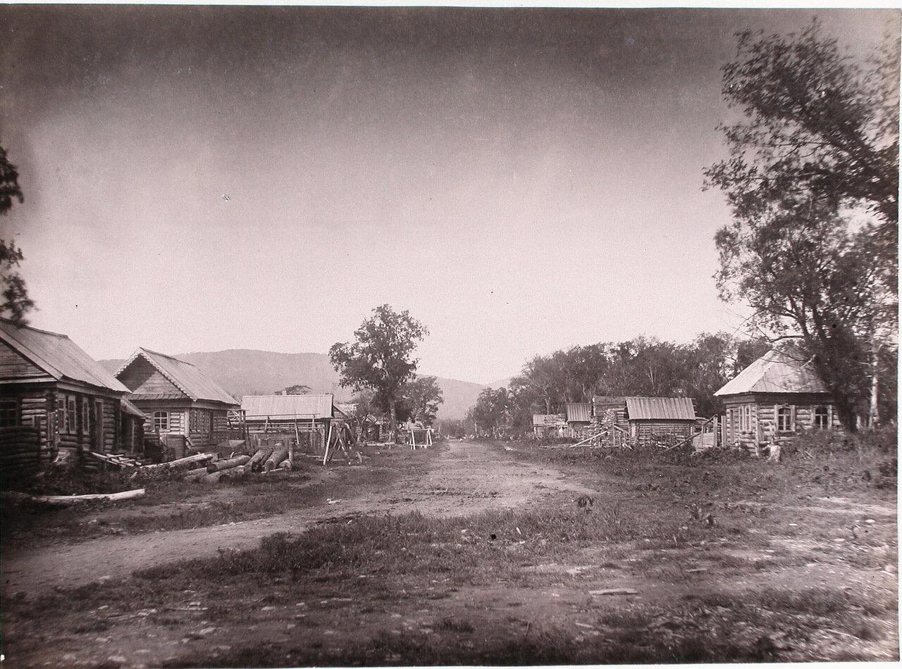 54. Вид жилых домов в поселенье Галкино-Врасское