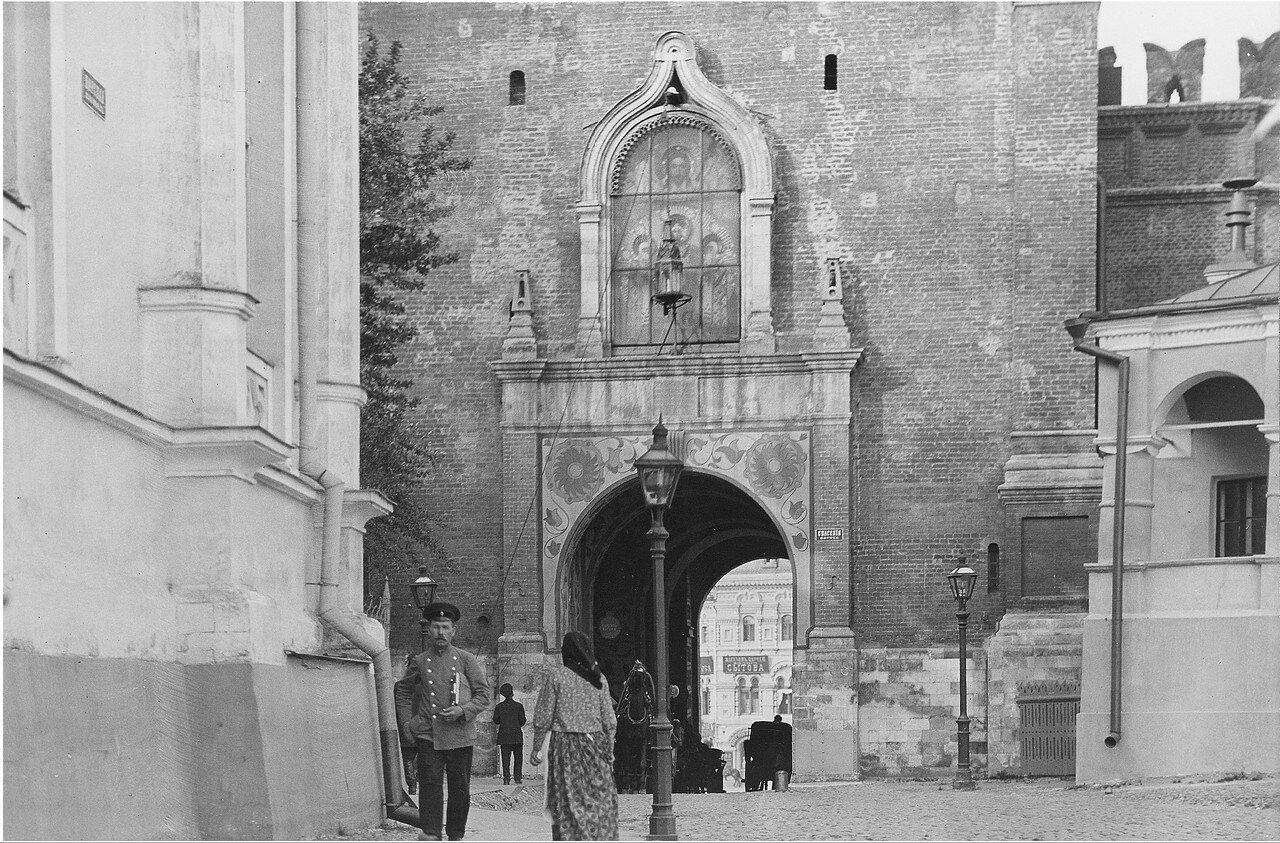 602. Кремль. Спасские ворота