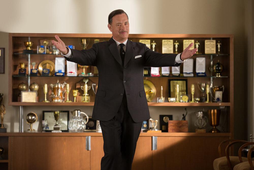 """SAVING MR. BANKS""Walt Disney (Tom Hanks) inDisney's ""Saving Mr. Banks"".Ph: François Duhamel©Disney Enterprises, Inc.  All Rights Reserved."