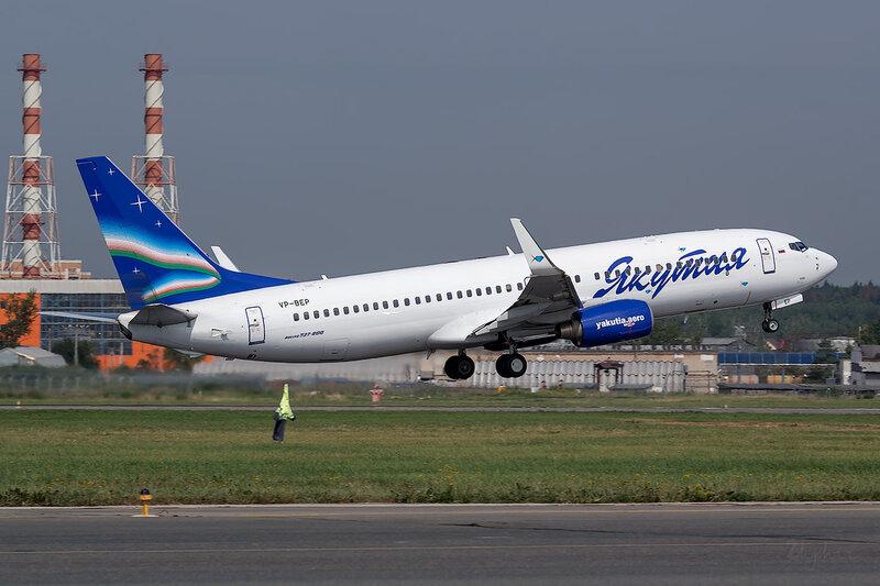 Boeing 737-8Q8 (VP-BEP) Якутия D801475
