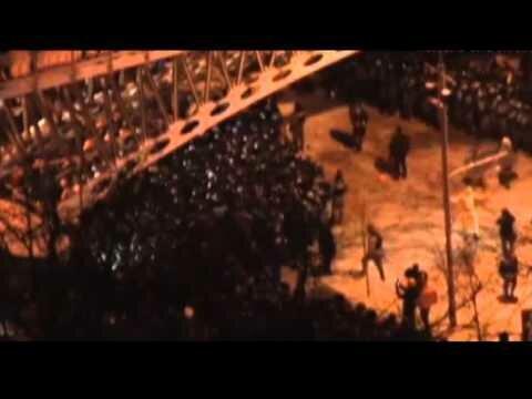 Видео разгона Майдана 11.12.2013