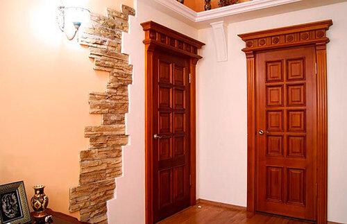 Двери из массива дуба – выбор людей умеющих ценить красоту
