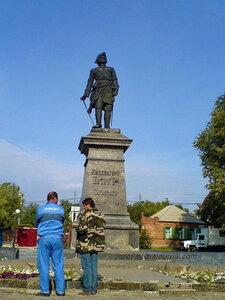 Памятник Петру 1, Таганрог