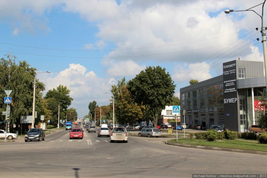 улица Дзгоева, Крейда, Белгород
