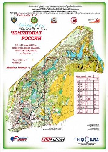 Чемпионат России (27-31 мая 2012)