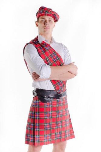 Мужской карнавальный костюм Шотландец