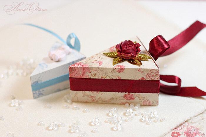 Коробочки тортики