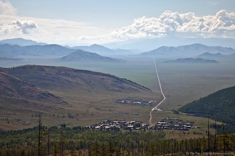 1. Турано-Уюкская котловина и дорога на Кызыл.