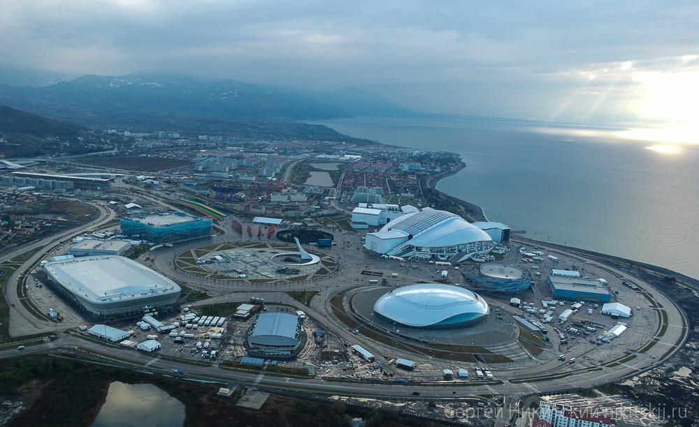 Олимпийские объекты сочи картинки