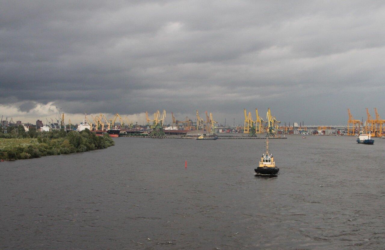 Санкт-Петербург, Морской канал, порт