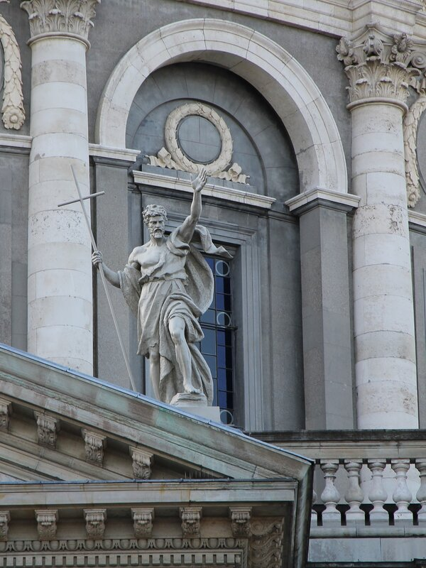 Копенгаген. Церковь Фредерика или Мраморная церковь (Frederiks Kirke, Marmorkirken)e