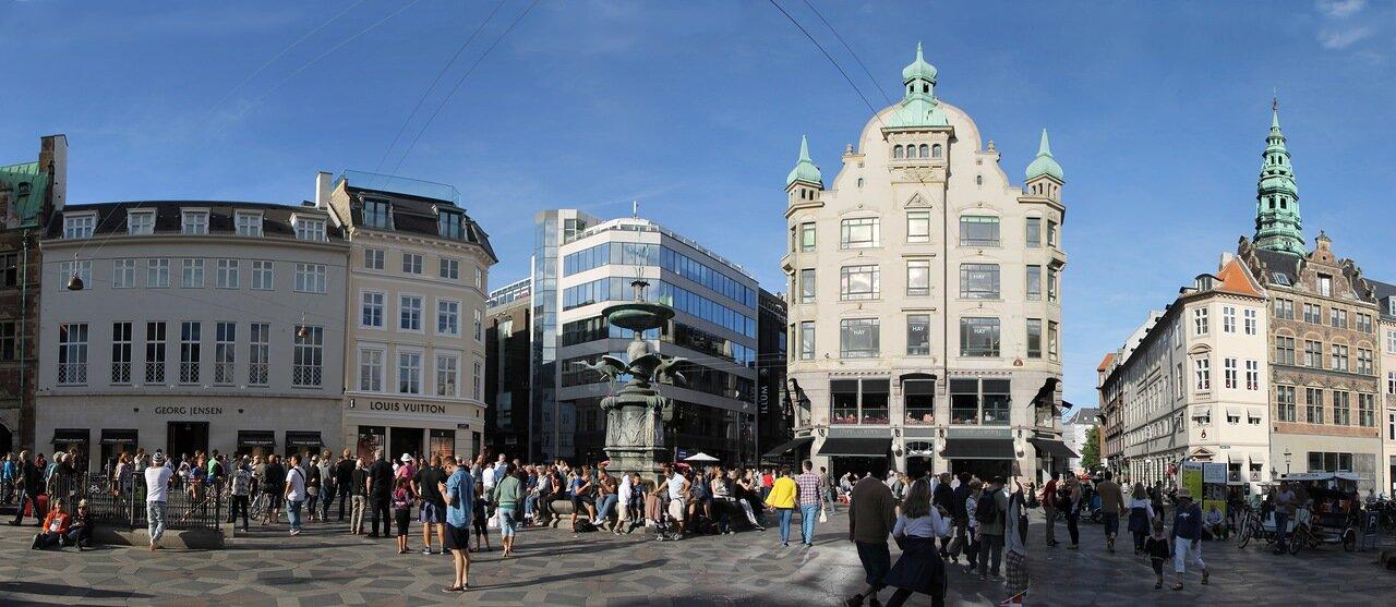Copenhagen. Amager sqare (Amagertorv)