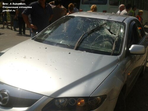 взрыв в луганске по улице шевченко