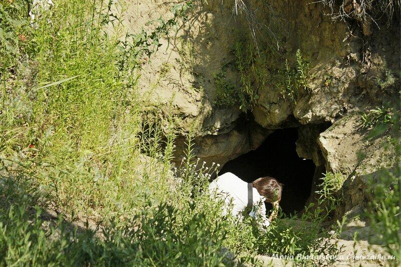 Кудеярова пещера, село Лох, 13 июля 2013 года