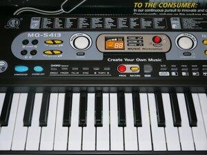 Синтезатор детский MQ-5413 с микрофоном