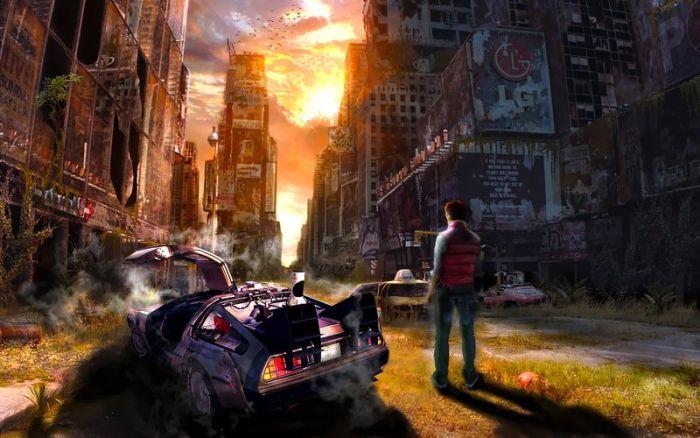 Сравнение реального 2015 года с событиями из Назад в будущее
