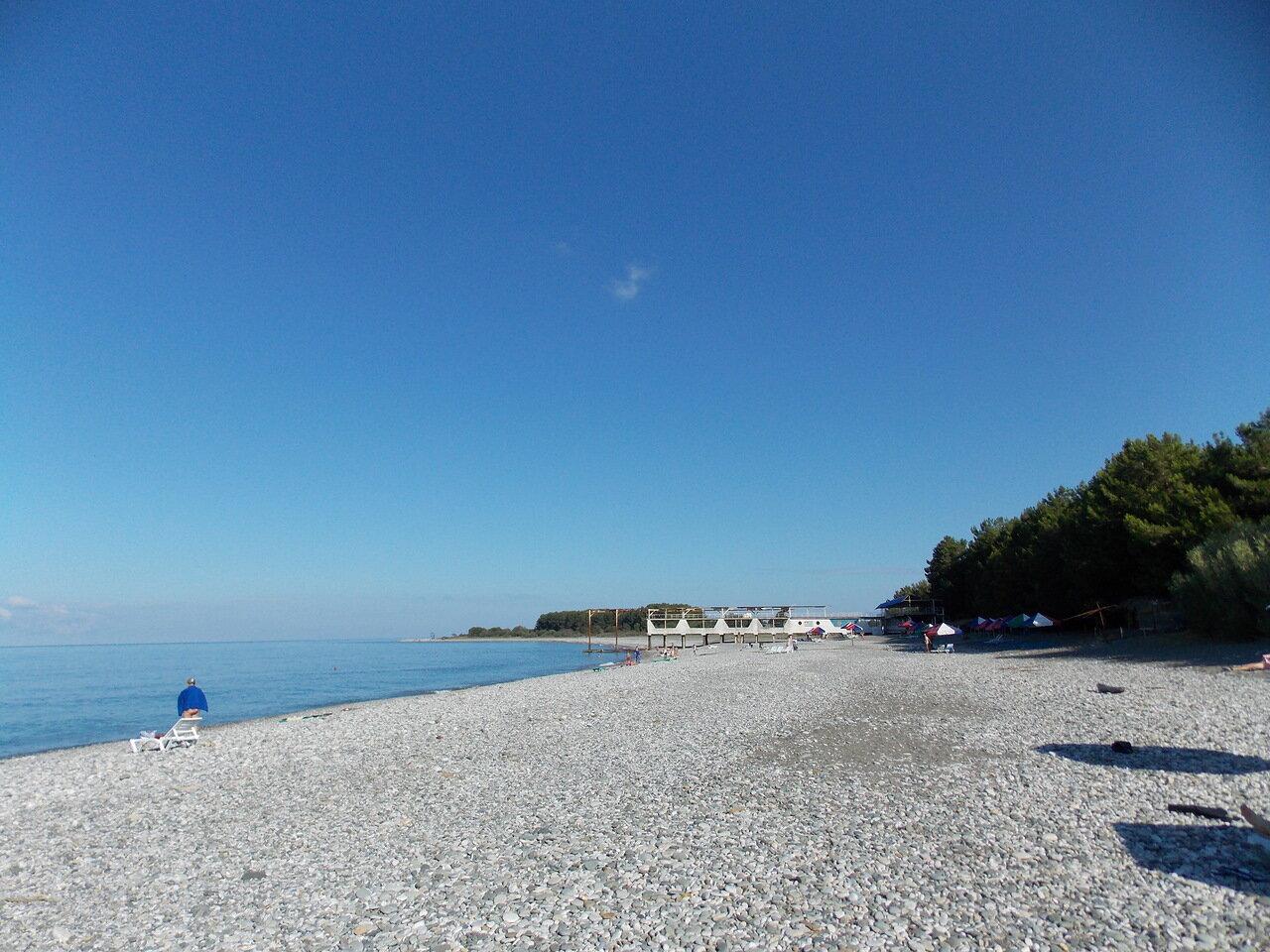 Пицунда город фото море пляжи