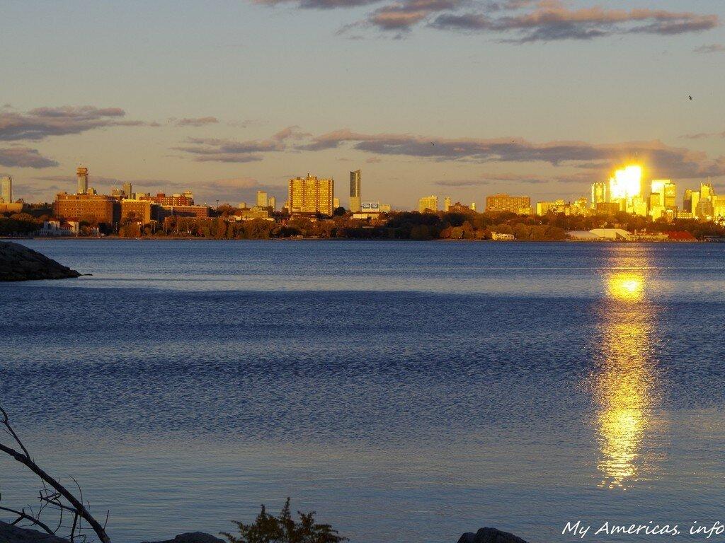 закат, Humber Bay, Toronto, Canada