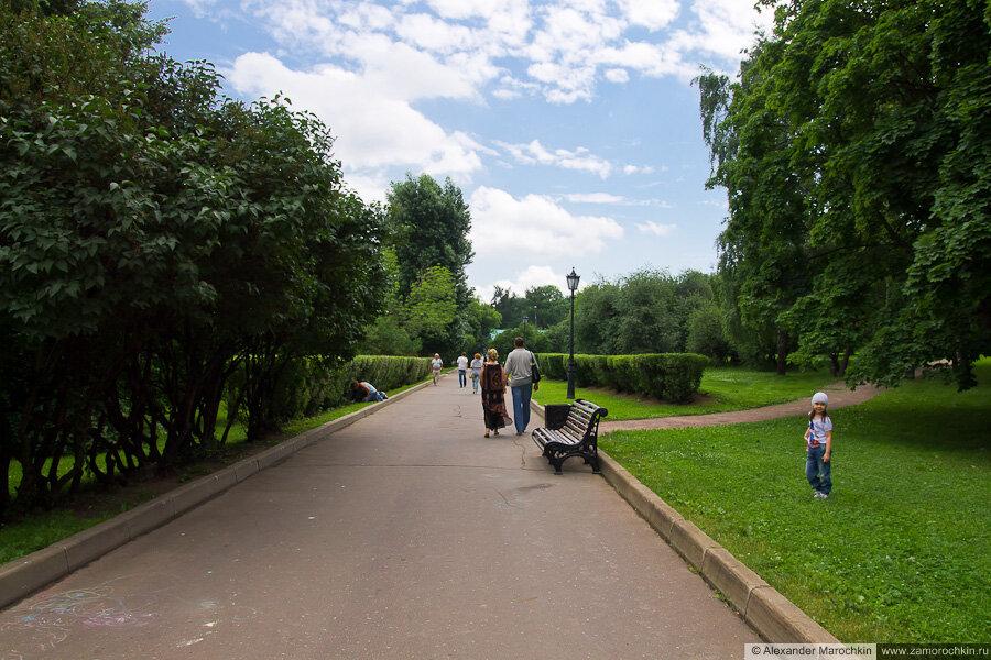 Парк в Коломенском, Москва