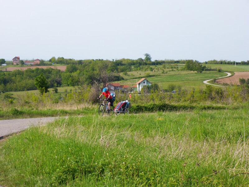 велопоход по сербии с ребенком