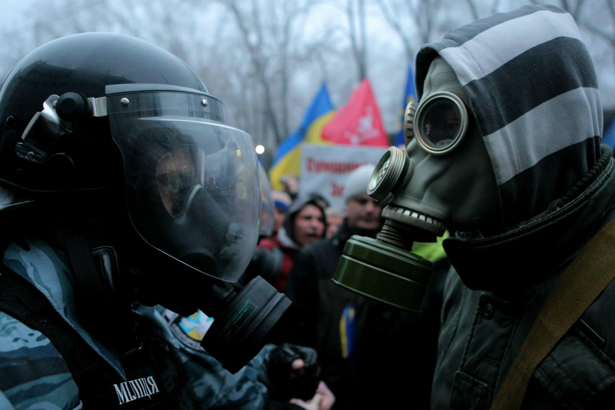 Газовое противостояние