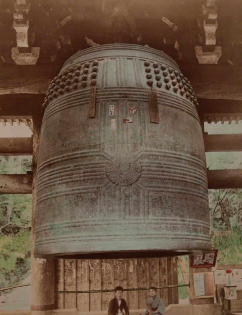 Большой колокол храма Тионин, Киото