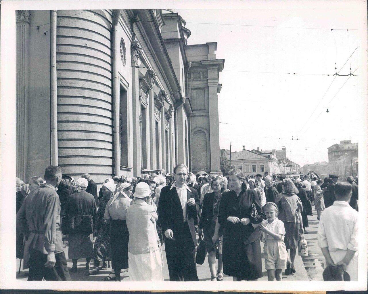 1946. Москва. Уличная сцена