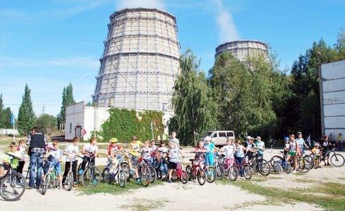 Велобиатлон на Самарской ТЭЦ