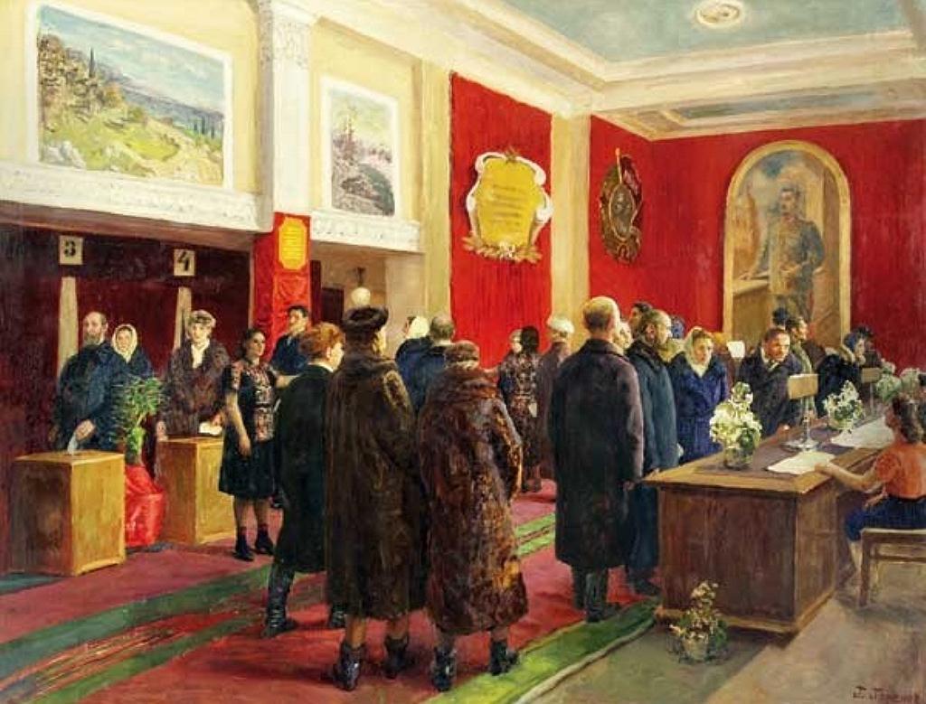 Выборы, Горелов Гавриил
