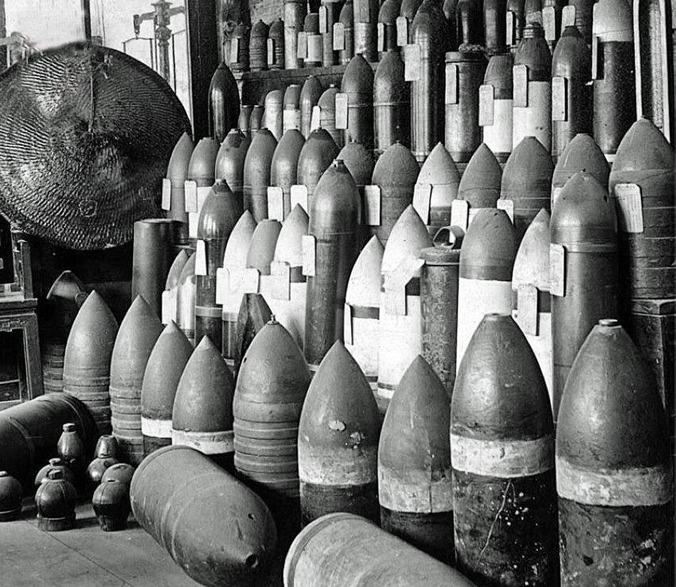Повстанцы захватили снаряды императорской армии династии Цин
