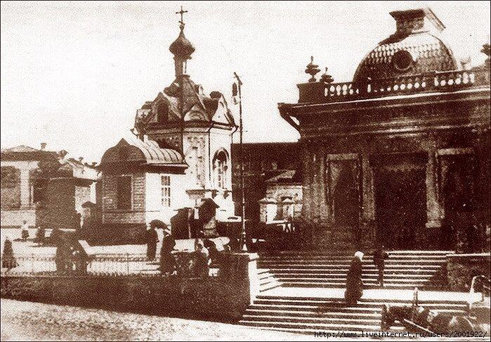 Омск, Часовня Иверской иконы Божией Матери