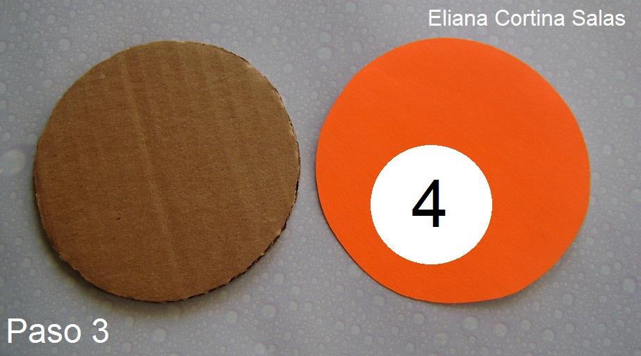 EL MOLDE 4 SE DEBE CORTAR 1 PIEZA EN UN CARTON GRUESO ( DE CAJA DE EMBALAJE), ESTE CORRESPONDE A LA BASE DEL RELLENO DEL CUP CAKE.