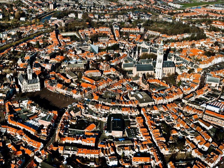 Aerial Views of Cities Around the World