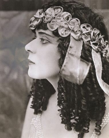 Actress Theda Bara as