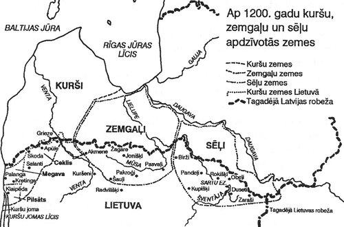 Территории расселения