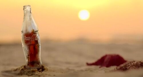 Оригинальная бутылка для кока-колы