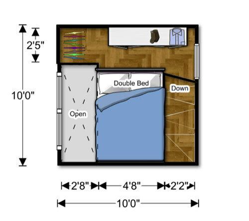 Сборный домик с эффективным интерьером