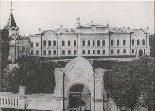Главный архив Министерства иностранных дел (Вид со стороны Моховой улицы)