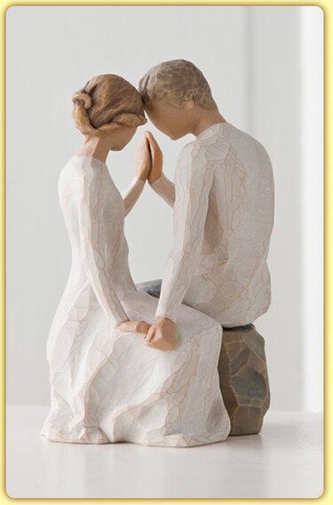 Фото «Трогательные фигурки из дерева»