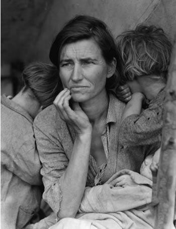 Лицо Великой Депрессии