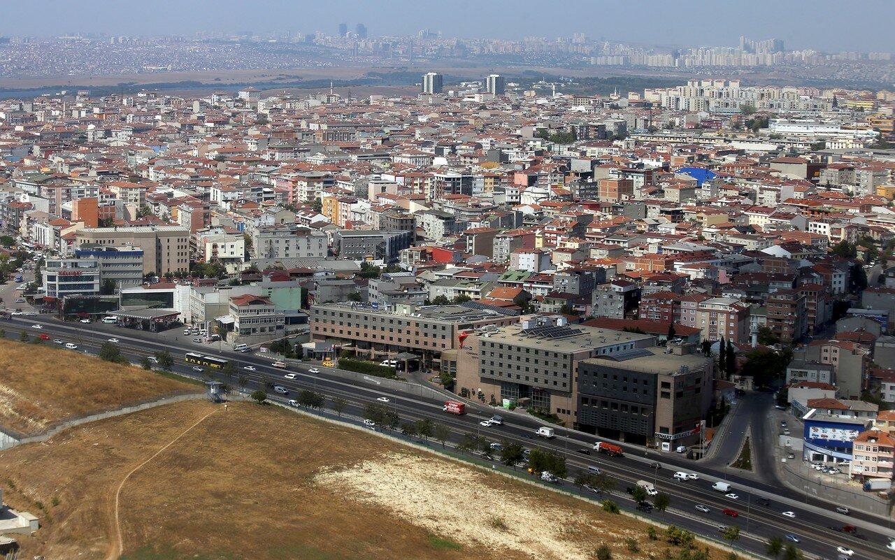 Стамбул, вид с самолета