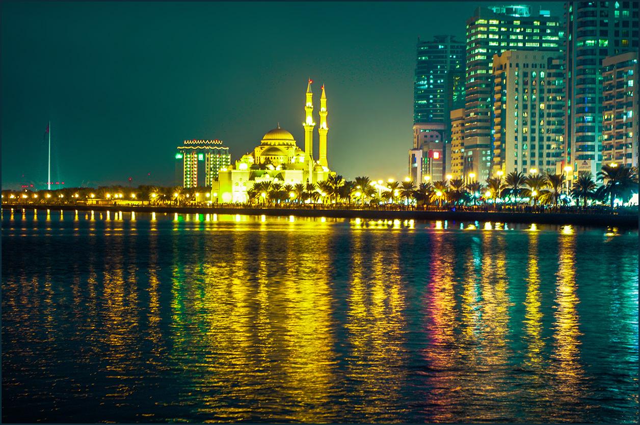 Мечеть и отражения