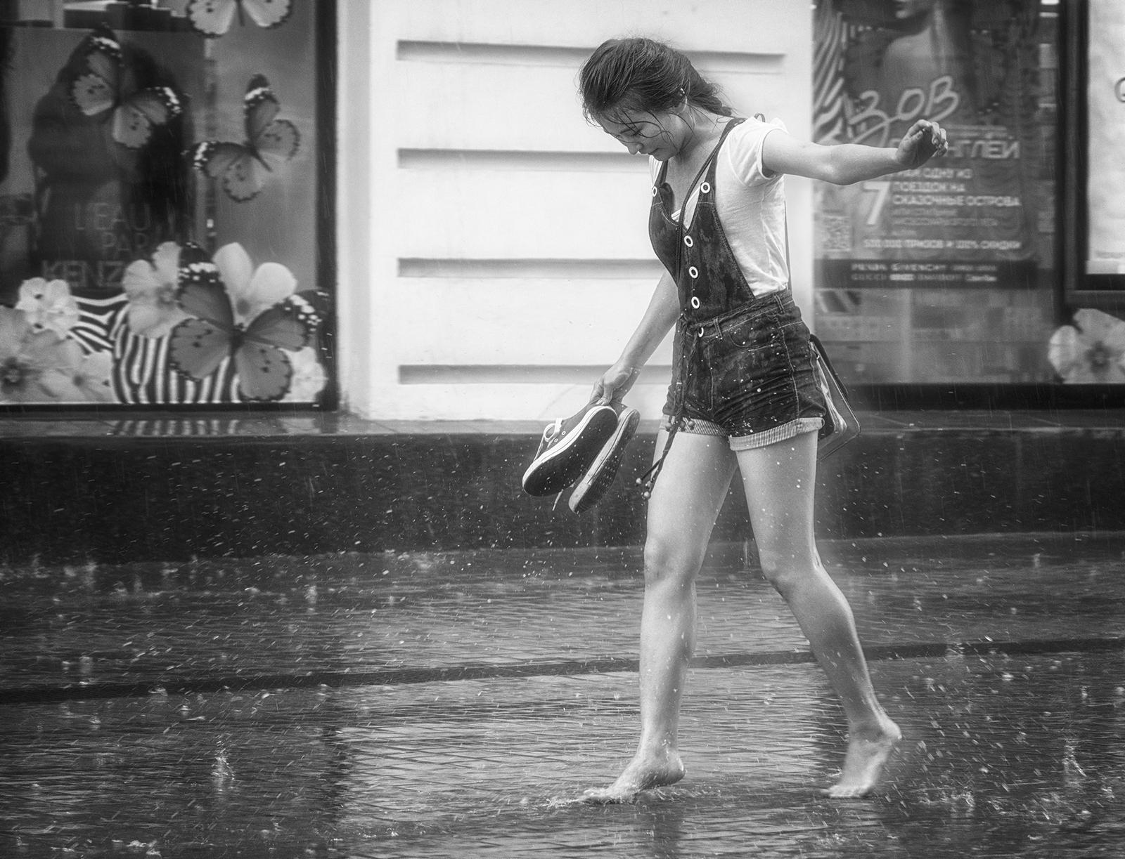 Все капли дождя мои