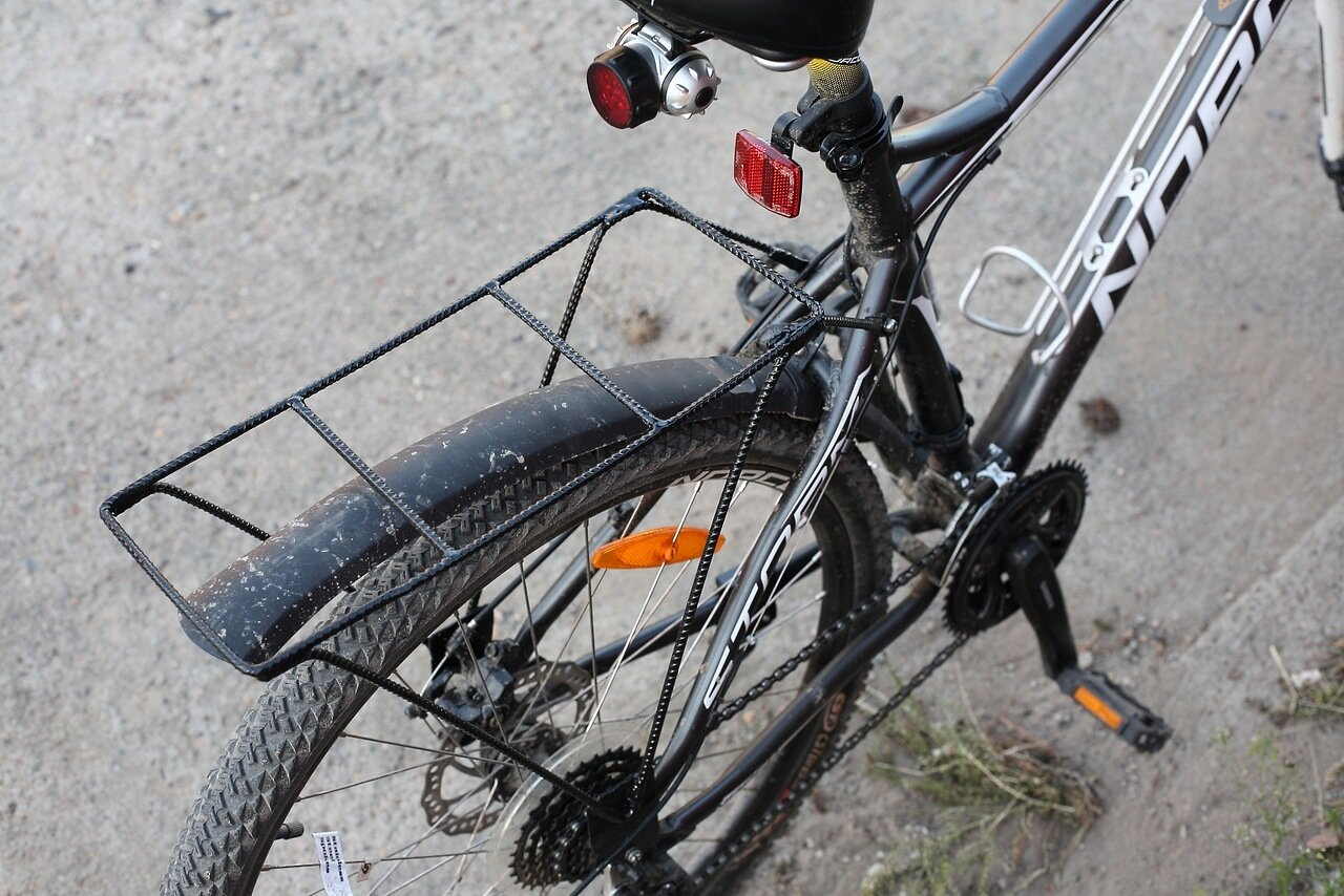 Багажник на двухподвесный велосипед своими руками 48